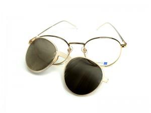 Brille mit Clip, Snob Milano
